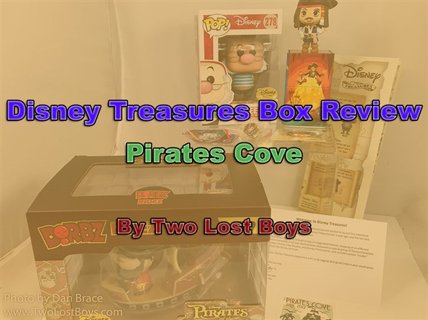 Disney Treasures Box Review - Pirates Cove
