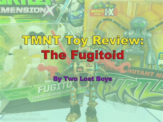 TMNT Toy Review - The Fugitoid