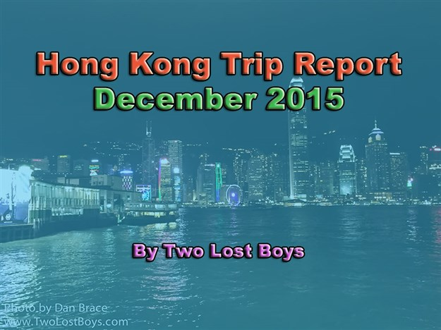 Hong Kong Trip Report, November-December 2015