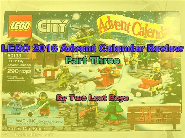 LEGO 2016 Advent Calendar Review, Part Three