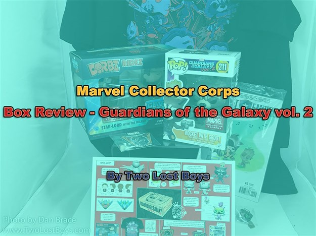 Marvel Collector Corps - Guardians of the Galaxy vol. 2