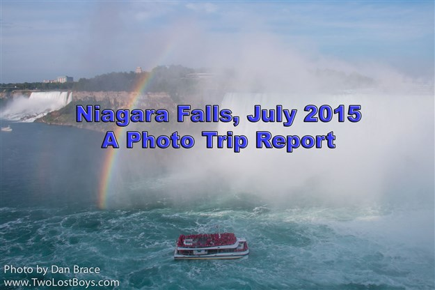 Niagara Falls, July 2015 - A Photo Trip Report