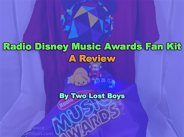 Radio Disney Music Awards 2017 Fan Kit Review