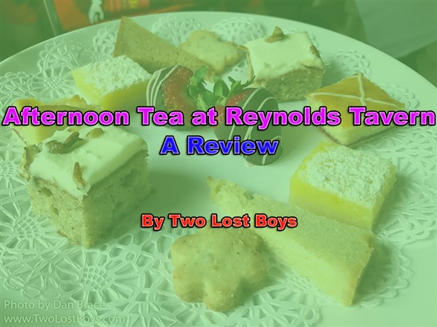 Afternoon Tea at Reynolds Tavern, A Review