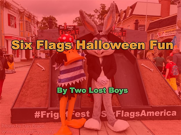 Six Flags Halloween Fun