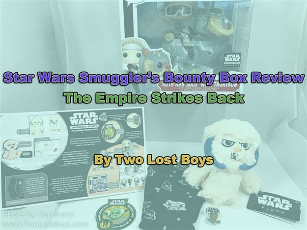 Star Wars Smuggler's Bounty Box Review - The Empire Strikes Back