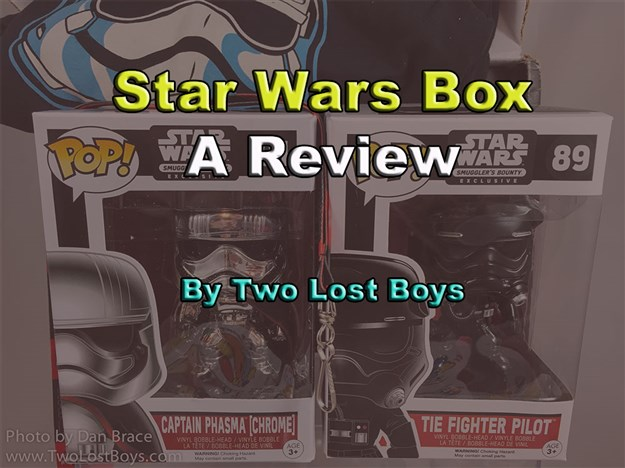Star Wars Smuggler's Bounty - Debut Box Review