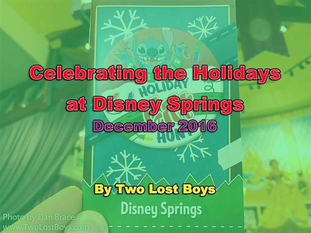 Celebrating the Holidays at Disney Springs