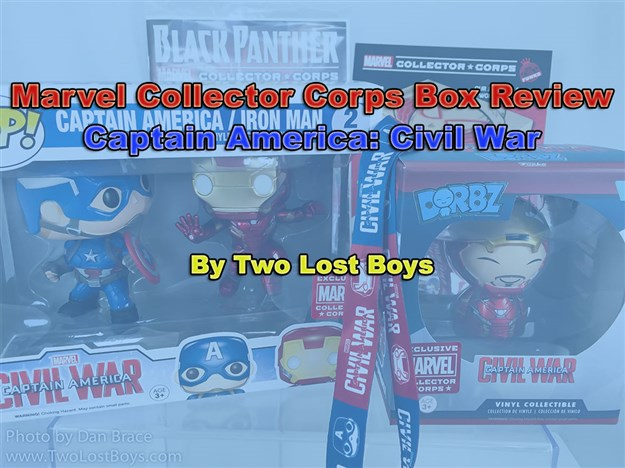 Marvel Collector Corps - Captain America: Civil War Box Review