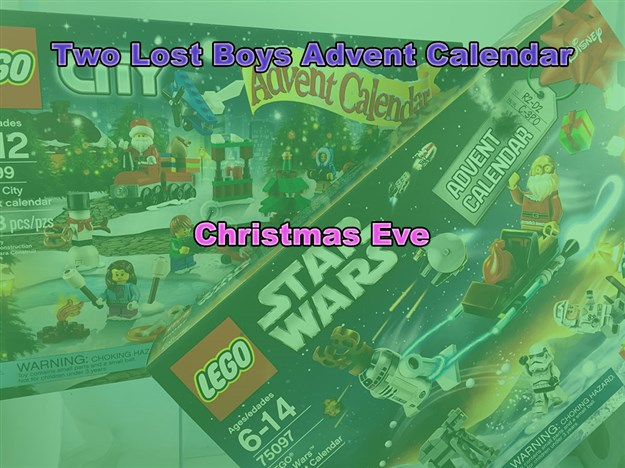 Two Lost Boys Advent Calendar Christmas Eve