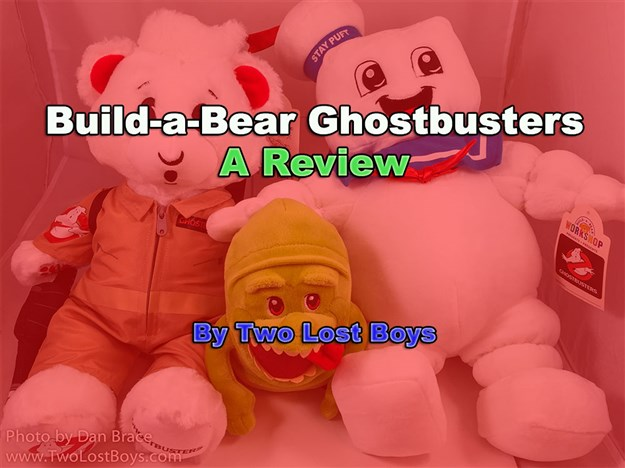 Build-a-Bear Ghostbusters - A Review