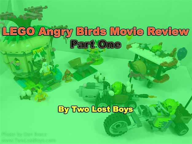 LEGO Angry Birds Movie Review - Part One
