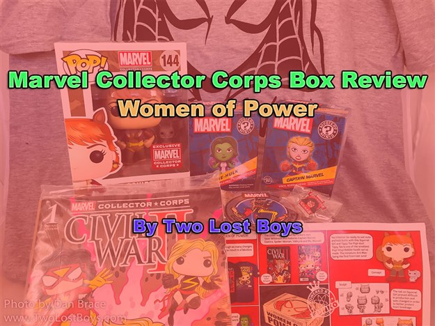 Marvel Collector Corps - Women of Power Box Review