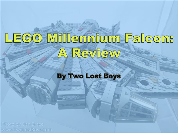 LEGO Millennium Falcon (Force Awakens) Review