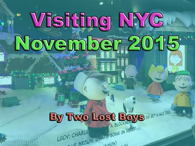 Visiting New York City - November 2015