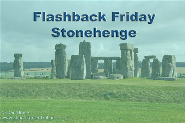 Flashback Friday - Visiting Stonehenge, Summer 2014