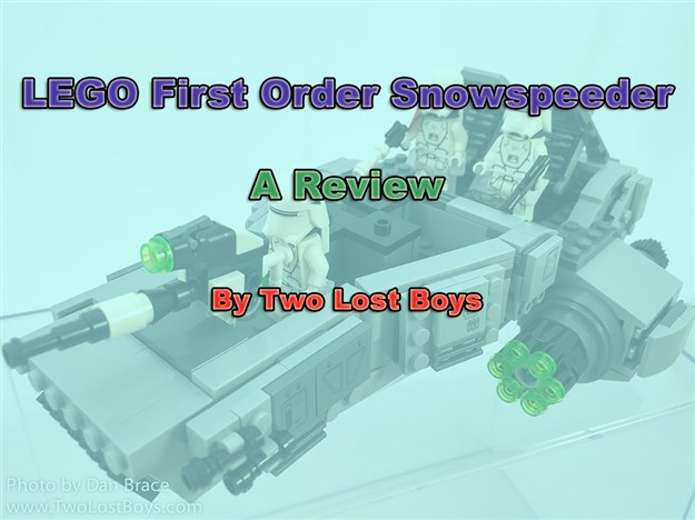 LEGO First Order Snow Speeder Review