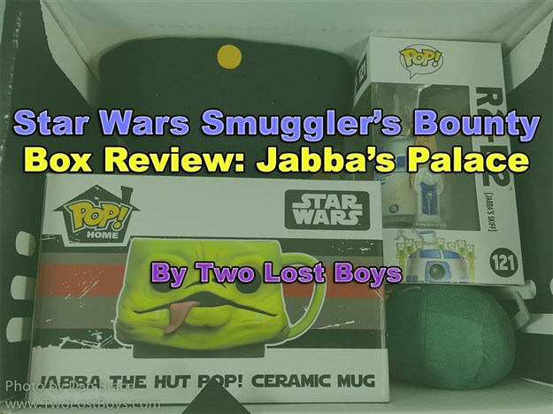 Star Wars Smuggler's Bounty Box Review - Jabba's Palace