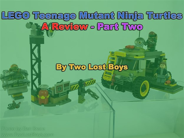 LEGO Teenage Mutant Ninja Turtles Review - Part Two