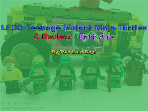 LEGO Teenage Mutant Ninja Turtles Review - Part One
